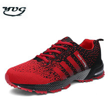 YUG Breathable Fly Line Mesh Men Running Shoes Speed 3 Cross Sneakers Women Outdoor Sport Walking Shoes for men 8702