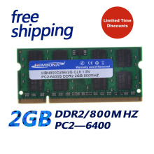 KEMBONA brand 2GB DDR2 2gb SODIMM 800MHz PC2-6400 200pin 1.8V notebook computer notebook memory Original chipset(China)
