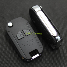 LinHui for SUZUKI SX4 SWIFT JIMNY Key Case 2 Buttons Uncut Blank Cooper Blade Modified Remote Key Replace ABS Shell 1Pc