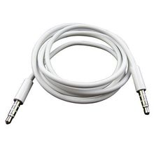 1M Audio Cable 3.5mm to 3.5 mm Male to Male Extension Jack AUX Cable For iphone 4 4S 5 5s 6 6s For iPad MP3 MP4 MUSIC PLAYER