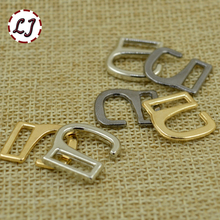 Wholesale new arrived 20pcs/lot 10mm silver gun-black gold metal shoes bags type 9 Buckle hooks buttons DIY Accessories(China)