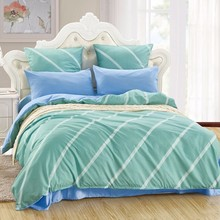 LILIYA 4/6Pieces Romantic  Bedding Set Soft Pillowcase Sheet With Elastic Luxury Duvet Cover #M