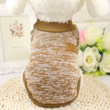 Warm Sweater Winter Warm Cotton Cat Hoodies Sweatshirt Pet Coat Jacket Clothes for dogs roupas para cachorro Pet Dog Clothes