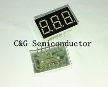 "10 PCS LD-3361AS 3 Digit 0.36"" RED 7 SEGMENT LED DISPLAY COMMON CATHODE"