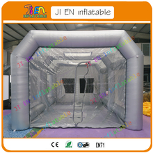 Portable Mobile Work Station Car Painting Room / Professional Inflatable Spray Paint Booth / Inflatable Spray Booth