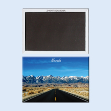 The United States Nevada Wide roads  22668 Magnetic refrigerator gifts for friends ,Souvenirs of  Tourist Landscape