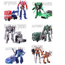 2017 New Anime transformation 4 Toys Robot Car  Action Figure  Galvatron Hound Drift Crosshairs Brinquedos Kids Toys Gifts