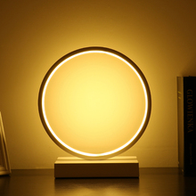 Modern European Eye Protect Table Light AC 90-260V Bedside Bedroom 3 Colors Changing Table Lamp For Living Room Study Room(China)