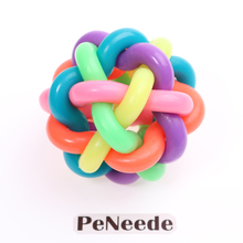 "6.5cm 2.5"" Fidget Ball Anti Stress Ball Kids Sensory Toy High Quality Rainbow Colorful Orbit Ball For ADHD Autism Squeeze Ball(China)"