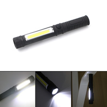COB LED Mini Pen Flashlight Multifunction Pocket led Torch light work flashlight Hand Torch Lantern AAA Light With Magnet Clip