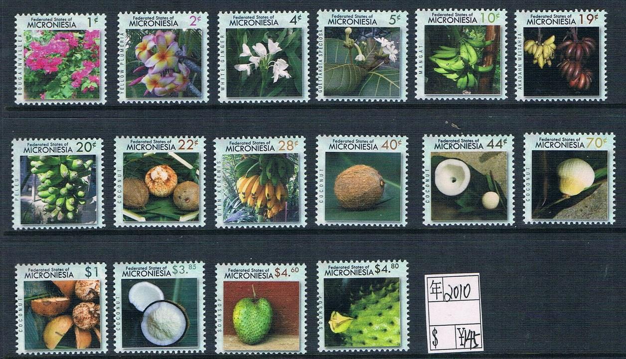 MR0506 Micronesia 2010 Flower &amp; fruit 16 new 1016<br>