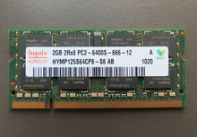 Lifetime warranty DDR2 2GB 800MHz PC2-6400S Original authentic DDR 2 2G notebook memory Laptop RAM 200PIN SODIMM