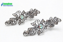2pc Fashion Crystal Hair Pin Women Wedding Bridal Simple Accessories Hair Clip Rhinestone Hair Jewelry F197