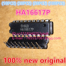 (10PCS) (20PCS) (50PCS) (100PCS) 100% New original HA16617P DIP18 4 Channel disk / tape read IC chip