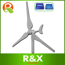 Small wind turbine generator 50w, combine with wind controller and 300w off grid pure sine wave inverter.(China)