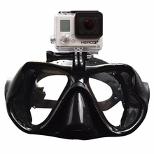 Professional Underwater Diving Mask Scuba Snorkel Swimming Goggles for GoPro Xiaomi SJCAM Sports Camera