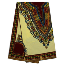 2017 wholesale dashiki fabric 6yards high quality african print fabric hollandais wax fabric for sewing