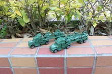 World war ii military model with LunTuo head car model, sand table scene transporter, model toys, Boys Toys(China)