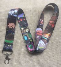 Lot 10Pcs Popular Cartoon Mobile Cell Phone Lanyard Neck Straps Party Gifts S274