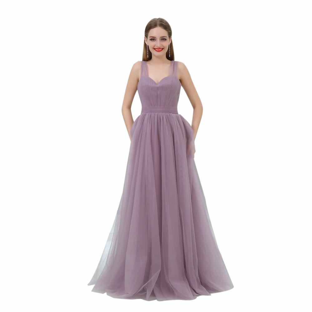 Simple Prom Dresses Cheap 2017 Vestido De Festa Formal Women Evening Dress  A Line Open Back Special Occasion Pageant Gowns 7d7105dac03f