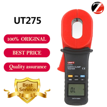 New Brand UNI-T UT275 Data Recall Clamp Earth Ground Resistance Testers 30 Data Logging Auto Calibration Function Fast Shipping(China)