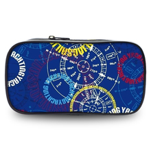 Hot sales fashion stationery large-capacity pencil-box, national wind print bag school bag stamp office coin purse