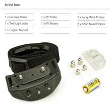 No Bark Electronic Collar Pet853 Anti Dog Bark Collar With 7 Levels Shock Pet 853 to Let Dog Bark Stop