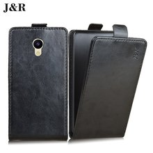Brand J&R Cases For Meizu Meilan 5 M5 Mini Cover Meilan5 M5mini 5.2 Inch CellPhone Bags PU Leather Housing Skins Funda Capa Para