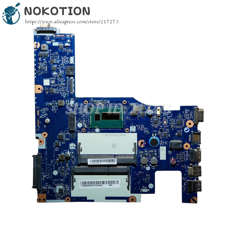 NOKOTION ACLU1/ACLU2 NM-A272 PC Main Board For Lenovo G50-70 Laptop Motherboard i3 CPU