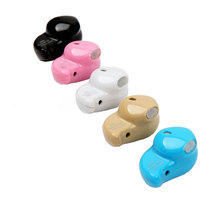 Mini Stealth Earphone Headphone Little Finger Size Wireless Bluetooth 4.0 Stereo Headset Handfree for All phone