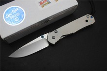MIKER Chris Reeve Large Sebenza 24 Tactical folding knife D2 blade Titanium camping knife outdoor hunting knives EDC tools(China)