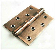 Free Shipping, Antique Copper Finished 304 Stainless Steel Hinges, Door hinge,Antique wood Door Hinge 4inch*3inch*3mm,Low noise