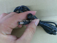 2Meters  DC12V Extension Cable  5.5x2.1mm Male to 5.5x2.1mm Female. 22AWG.2500pcs/lot Free DHL to USA