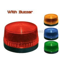 Buzzer Strobe Signal Warning light TB35 N-3071J 12V 24V 220V Indicator light LED Lamp small Flashing Light Security Alarm IP44