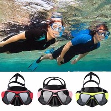 Mount Anti Fog Diving Mask Scuba Snorkel Swimming Goggles free shipping(China)