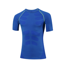 Men's Dry Training T-Short Fit Compression Tight Top For Running,Cross Training And Etc(China)