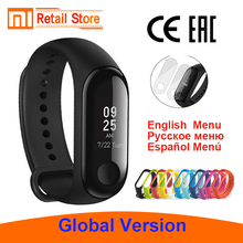 "Global Version Original Xiaomi Mi band 3 Fitness Tracker Smart Bracelet 0.78"" OLED Touch Screen 50MWaterproof Miband 3 Xiomi"