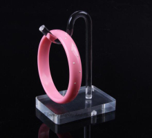 Clear Acrylic Jewelry Display Props Bracelet Pendant Showing Rack Anklet Stand Bangle Chain Holder Hook Case Organizer