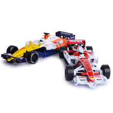 HQ 1:24 scale Simulation F1 World Grand Prix Renault racing team diecast cars model alloy toys with pull back sound and light(China)
