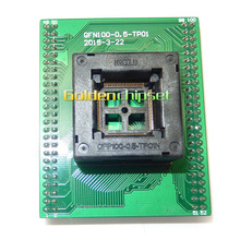 Top Quality TQFP100 FQFP100 QFP100 to DIP100 Programming Socket OTQ-100-0.5-09 Pitch 0.5mm IC Body Size 14x14mm Test Adapter(China)