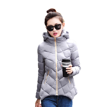Warm Winter Coat Women Plus Size Winter Jackets Cheap Down Jacket Big Size Winterjas Vrouwen Short Feminino Ladies Coats 50D(China)