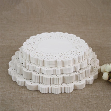 "200 Pcs 5.5""=140 mm Lace Paper Doilies/ Doyleys,Vintage Coasters / Placemat Craft Wedding Christmas Table Decoration TY-10003"
