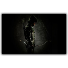 ARROW Green Action Adventure Crime Warrior Weapon Archer Tv Movie Film Poster Fabric Silk Poster Print DY010(China)