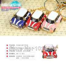 Usb Stick USB Flash Drive 4GB-32GB Jewerly mini car with keychain  USB Flash 2.0 Memory Drive Stick S54pendrive