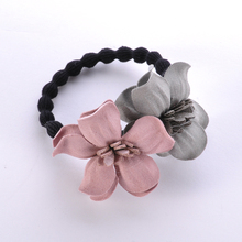 Cutton Flowers hairband Hair Holders Hair wear Rubber Bands Hair Elastics Accessories for Girls Women Young style