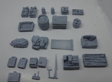1/35 scale Model scene tanks accessories  Architectural model material Resin model Kit figure Free Shipping