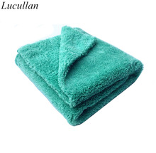 "BEST!!!Plush Microfiber Edgeless Towel 16""X16"" 100% Scratch Free Perfect For Auto Detailing,Washing,Interior Cleaning(China)"