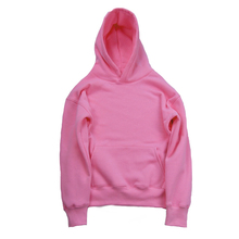 Solid Color thick Fleece Mens Sweatshirts and Hoodies Pullover Casual Blank Hoody Men Women Army green,pink,khaki,orange,black(China)