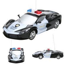 1/24 Drift Speed Radio Remote Control RC RTR Police Racing Car Toy Xmas Gift RC Cars Toys Kid's Toys Gifts(China)