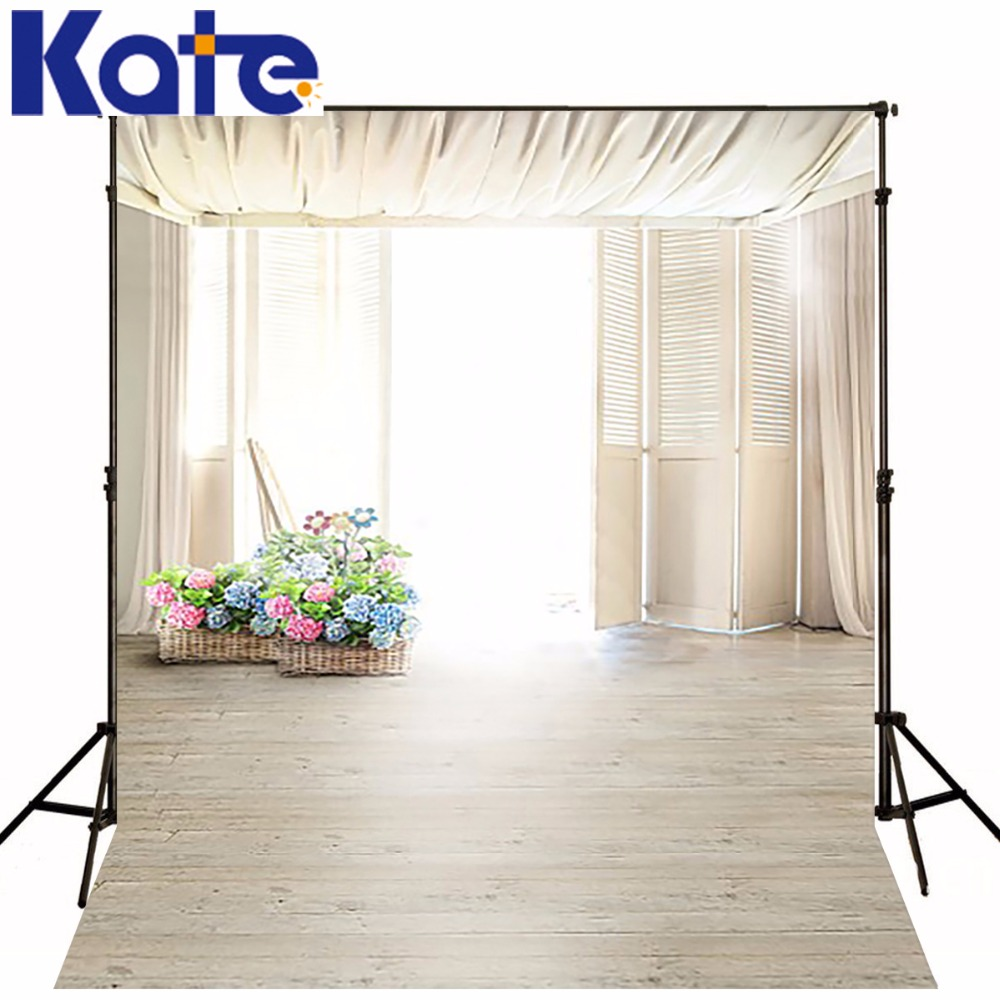 Kate Digital Printing Background Fundo Si Flower Baskets 6.5 Feet Length With 5 Feet Width Backgrounds Lk 2661<br>